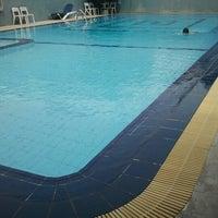 Photo taken at Swimming Pool Hotel Tiara by Benhard S. on 6/30/2012