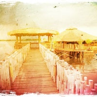 Photo taken at Lantaw Native Floating Restaurant by Kristiana on 7/31/2012