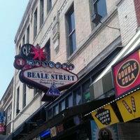 Photo taken at World Famous Beale Street by Jennifer S. on 5/26/2012