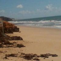 Photo taken at Praia de Pium by Zé Maneco S. on 5/17/2012