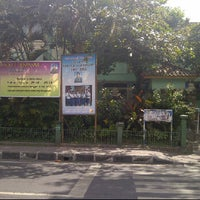 Photo taken at SMPN 2 Denpasar by Yoga N. on 7/27/2012