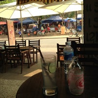 Photo taken at BonCafe, Luangprabang by mtengo on 3/4/2012