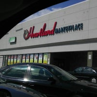 Photo taken at Heartland Marketplace by Danimal on 8/29/2012