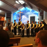 Photo taken at St. Joan of Arc Roman Catholic Church by Derek W. on 7/7/2012