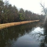Photo taken at Mine Falls Park by Lori J. on 3/19/2012
