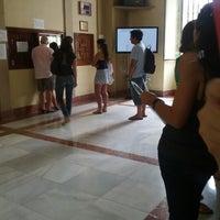 Photo taken at Facultad de Filología by Ramon P. on 7/27/2012