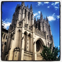 Photo taken at Washington National Cathedral by Rob on 4/21/2012