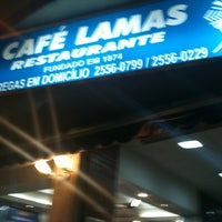 Photo taken at Café Lamas by Alice A. on 2/21/2012