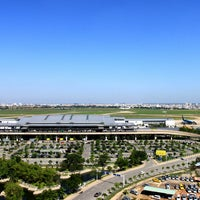 Photo taken at Tan Son Nhat International Airport (SGN) by Huy D. on 4/14/2012