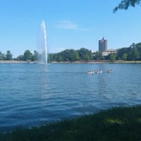Photo taken at Hermann Park by Andrea L. on 4/23/2012
