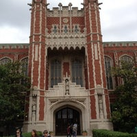 Photo taken at Bizzell Memorial Library by Austin E. on 5/8/2012