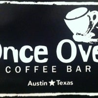Photo taken at Once Over Coffee Bar by Clay C. on 5/4/2012