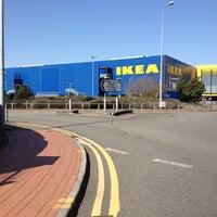 Photo taken at IKEA by Nicholas M. on 3/28/2012