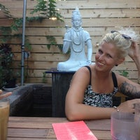 Photo taken at Namaste Cafe by Margaret T. on 7/21/2012