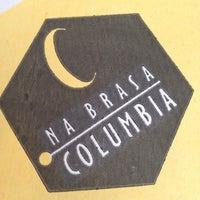 Photo taken at Na Brasa Columbia by Rodrigo R. on 2/19/2012