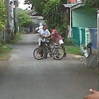 Photo taken at Jalan Ceningan Sari by Audi C. on 5/25/2012