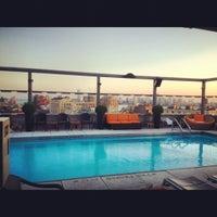 Photo taken at Plunge Rooftop Bar & Lounge by Zirj C. on 6/28/2012
