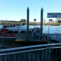 Photo taken at Eagle Street Pier Ferry Terminal by Andrey V. on 9/2/2012