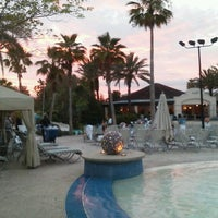 Photo taken at Hard Rock Hotel Beach Pool by Meghan T. on 5/6/2012
