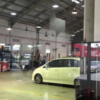 Photo taken at Perodua Service Centre by Laila Y. on 6/7/2012