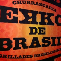 Photo taken at Ekko De Brazil by Jeff @ m. on 9/1/2012