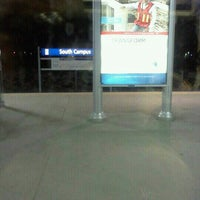 Photo taken at South Campus LRT Station by Don P. on 6/30/2012