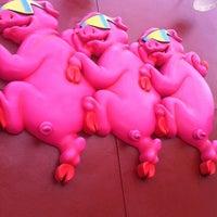 Photo taken at Bubbalou's Bodacious Bar-B-Que by Gerald H. on 3/9/2012