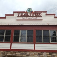 Photo taken at Tumbleweed Tex Mex Grill by Steve B. on 8/3/2012