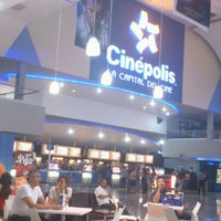 Photo taken at Cinépolis by Chrystyan P. on 5/19/2012