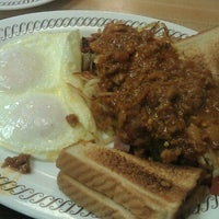 Photo taken at Waffle House by Tina W. on 7/14/2012