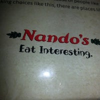 Photo taken at Nando's by James T. on 8/13/2012