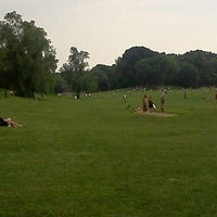 Photo taken at Endale Arch - Prospect Park by Joshua W. on 6/10/2012