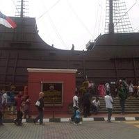 Photo taken at Kompleks Muzium Maritim (Samudera / Flor de La Mar) by Muny G. on 8/21/2012