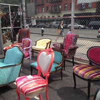 Photo taken at Columbus Ave Flea Market by Deborah C. on 9/2/2012