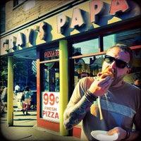 Photo taken at Gray's Papaya by Mega T. on 7/22/2012