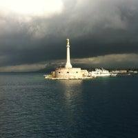 Photo taken at Porto di Messina by Raphael T H. on 4/7/2012