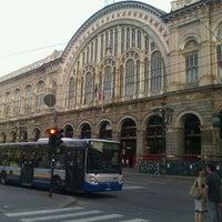 Photo taken at Torino Porta Nuova railway station (TPY) by Tatyana K. on 6/23/2012