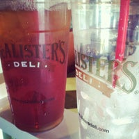 Photo taken at McAlister's Deli by Jamie C. on 5/25/2012