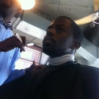 Photo taken at No Grease Barbershop by Deryle on 8/14/2012