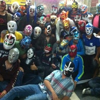 Photo taken at Arena México by Lalo E. on 7/14/2012