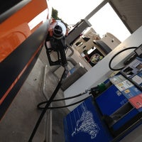 Photo taken at Exxon by Justin D. on 6/21/2012