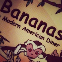 Photo taken at Bananas Modern American Diner by Stefanie D. on 6/7/2012