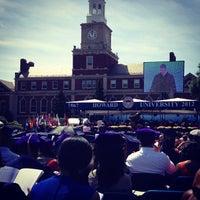 Photo taken at Howard University by Shaffer on 5/12/2012