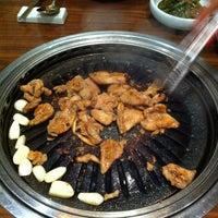 Photo taken at Hyang-to-gol Korean Restaurant by Serene L. on 3/26/2012