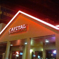 Photo taken at Capital Steakhouse by Duly M. on 8/23/2012