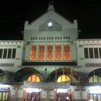Photo taken at Stasiun Cirebon Kejaksan by herry s. on 2/16/2012