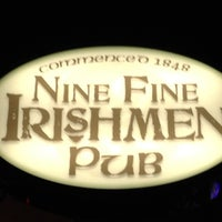 Photo taken at Nine Fine Irishmen by Heath D. on 5/26/2012