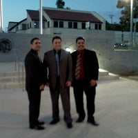 Photo taken at Whittier City Hall by Carlos A. M. on 9/5/2012