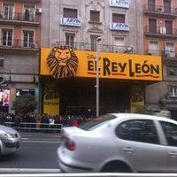 Photo taken at Teatro Lope de Vega by Fer N. on 3/10/2012