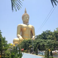 Photo taken at Wat Muang by Robird S. on 5/2/2012